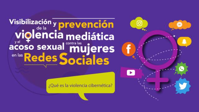 Visibilización y prevención de la violencia cibernética contra las mujeres y niñas