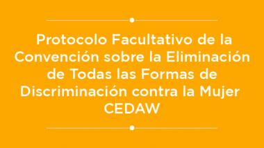 Protocolo CEDAW