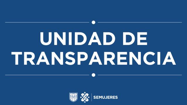 Transparencia Inmujeres CDMX
